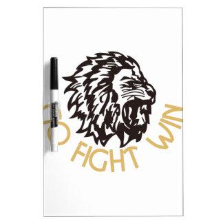 Go Fight Win Dry-Erase Whiteboard