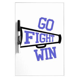 Go Fight Win Dry-Erase Whiteboards