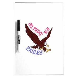 Go, Fight, Win Eagles Dry-Erase Whiteboard