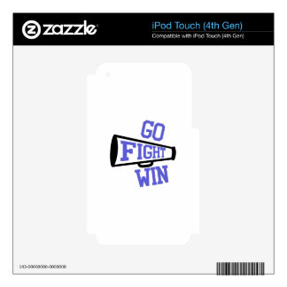 Go Fight Win iPod Touch 4G Decals