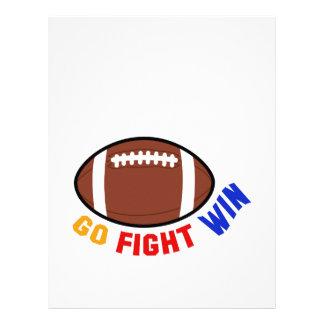 Go Fight Win Letterhead