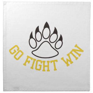 Go Fight Win Napkin
