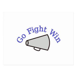 Go, Fight, Win Postcard
