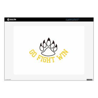 """Go Fight Win 15"""" Laptop Skin"""