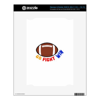 Go Fight Win Skin For NOOK