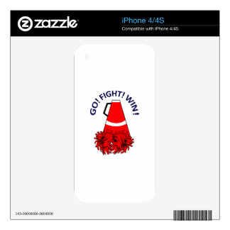 GO FIGHT WIN SKIN FOR THE iPhone 4
