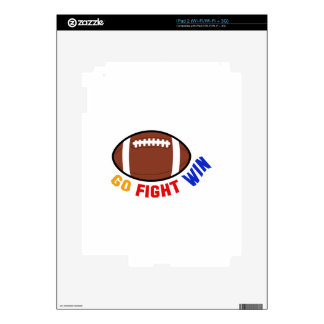 Go Fight Win Skin For The iPad 2