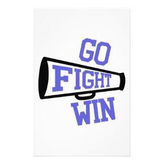 Go Fight Win Stationery