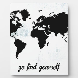 Go find yourself plaque