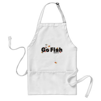 Go Fish Adult Apron