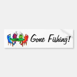 Go Fish Bumper Sticker
