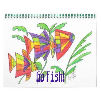 Go Fish! Calendar