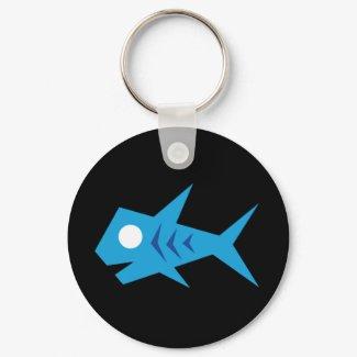Go Fish_Fish-o-Saurus keychain