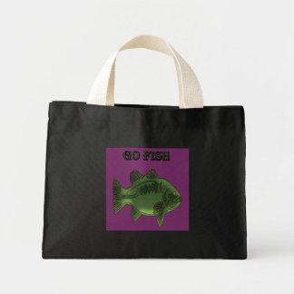 Go Fish Green Fish Mini Tote Bag