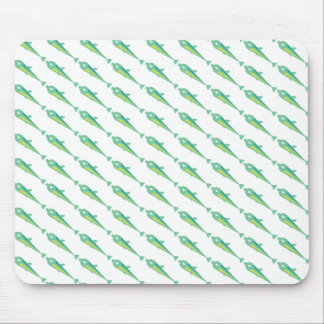 Go Fish_Green Sardine Mouse Pad