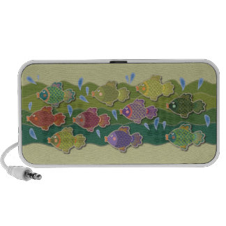 Go Fish Green Travel Speakers