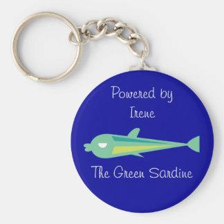 Go Fish_Irene The Green Sardine Keychain