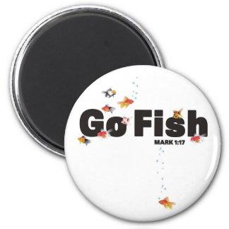 Go Fish Magnet