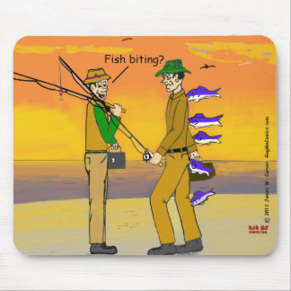 """""""Go Fish"""" Mouse Pad"""