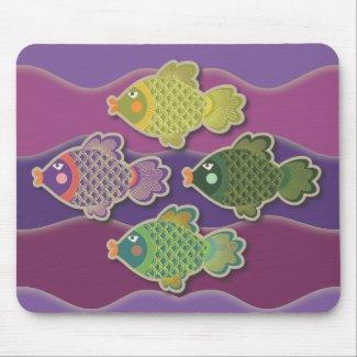 Go Fish mousepad