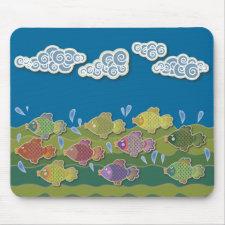 Go Fish Mousepads