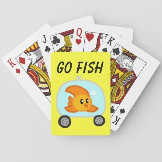 GO FISH POKER DECK