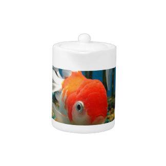 Go Fish Teapot