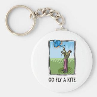 Go Fly a Kite 1 Keychain