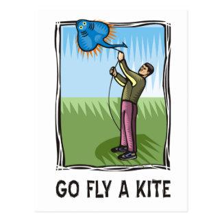Go Fly a Kite 1 Postcard