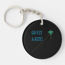 Go Fly A Kite 2 Keychain