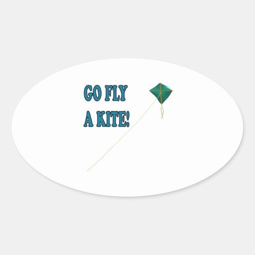 Go Fly A Kite 2 Sticker