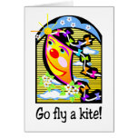 Go Fly a Kite 3 Greeting Card
