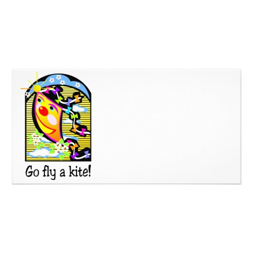 Go Fly a Kite 3 Picture Card