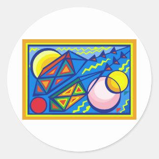 Go Fly a Kite 6 Classic Round Sticker