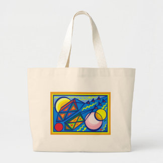 Go Fly a Kite 6 Large Tote Bag