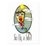Go Fly a Kite 7 Postcards