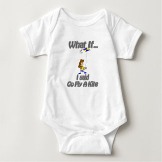 Go fly a kite baby bodysuit
