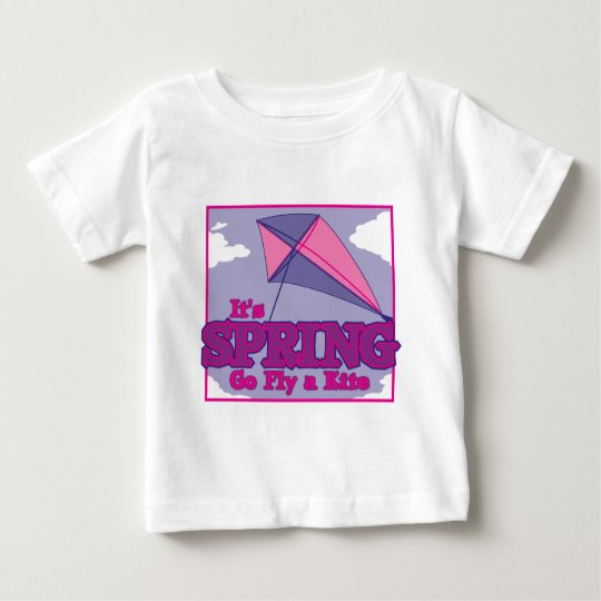 Go Fly A Kite! Baby T-Shirt
