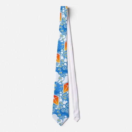 Go Fly a Kite - Brilliant Neck Tie