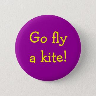 Go fly a kite! button