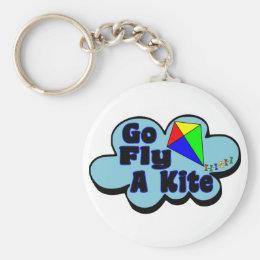 Go Fly A Kite Keychain