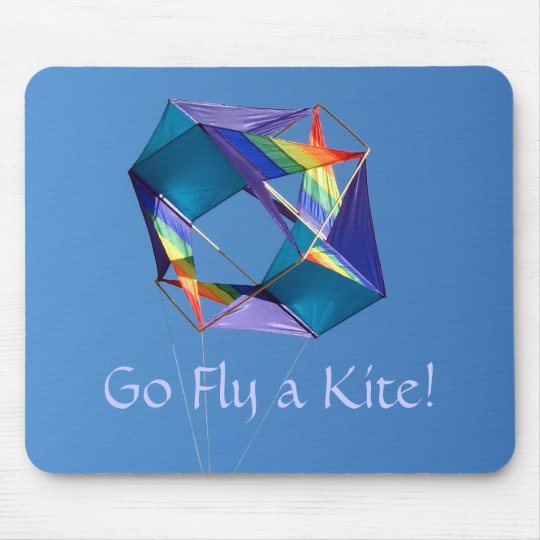 Go Fly A Kite! Mouse Pad