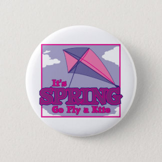 Go Fly A Kite! Pinback Button