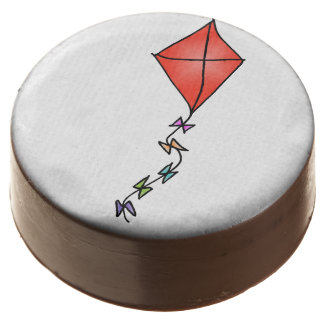 Go Fly a Kite! (red) Chocolate Dipped Oreo