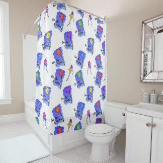 Go Fly a Kite! Shower Curtain