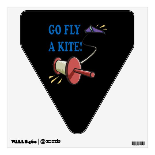 Go Fly A Kite Wall Decal