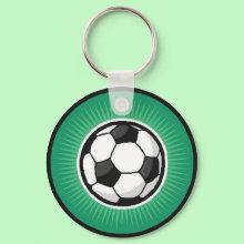 Go Football! - Keychain