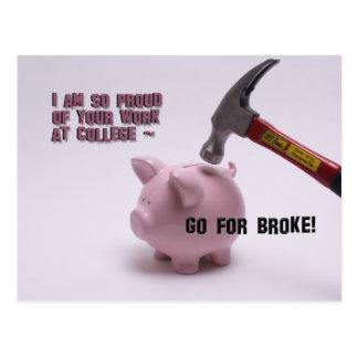 Go for Broke Postcard