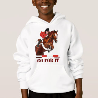 Go For It Jumper Girls Hoodie