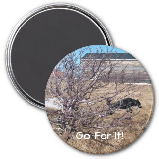 Go For It! Magnet